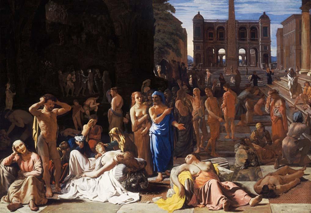 La peste asola una antigua ciudad (Public Domain)