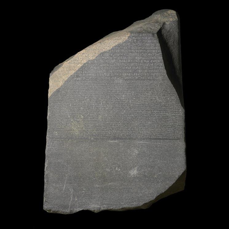 La Piedra Rosetta (Museo Británico)