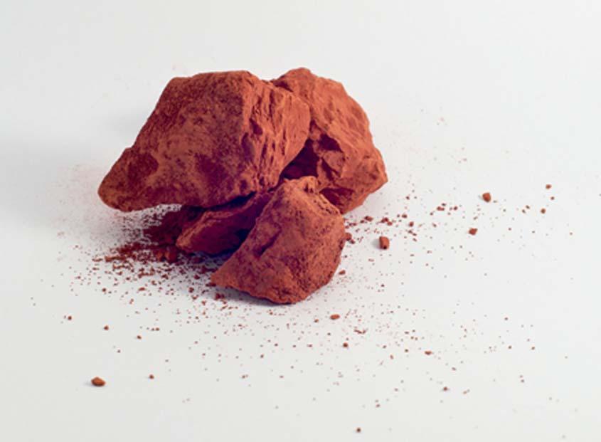 Pigmento rojo ocre (Nuno Barreto / flickr)