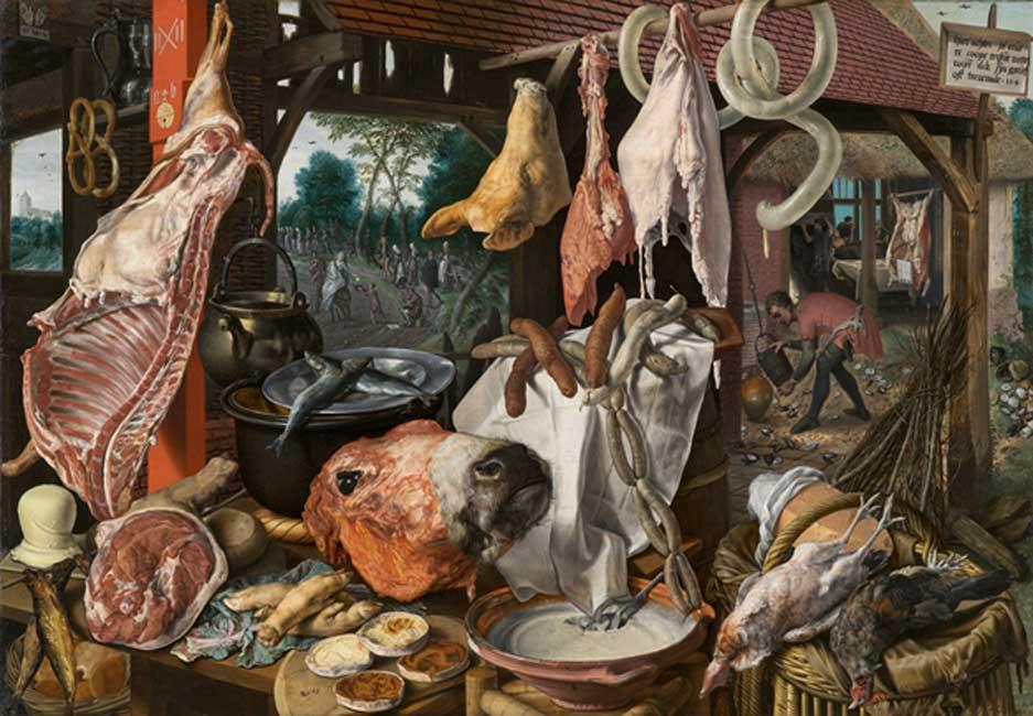 La alimentación basada en importantes cantidades de carne solo se habría generalizado a lo largo de los últimos 1.000 años. (Public Domain)