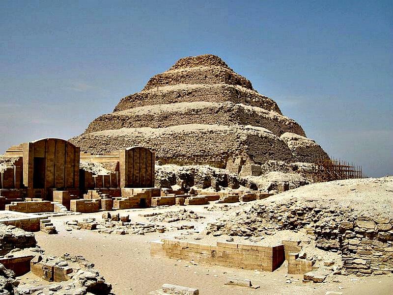 Complejo funerario de Saqqara. (Olaf Tausch/GNU Free)