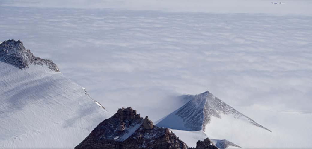 Pirámide antártica. (sevzirfo/Google Maps)