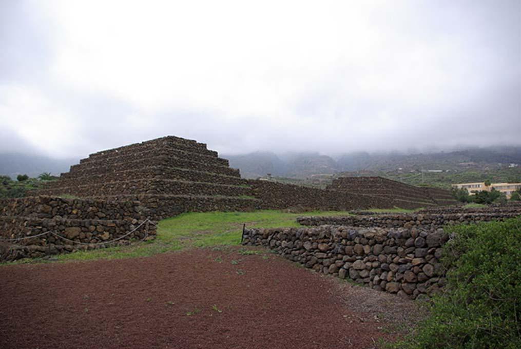 Pirámides de Güímar, Tenerife. (Dominio público)