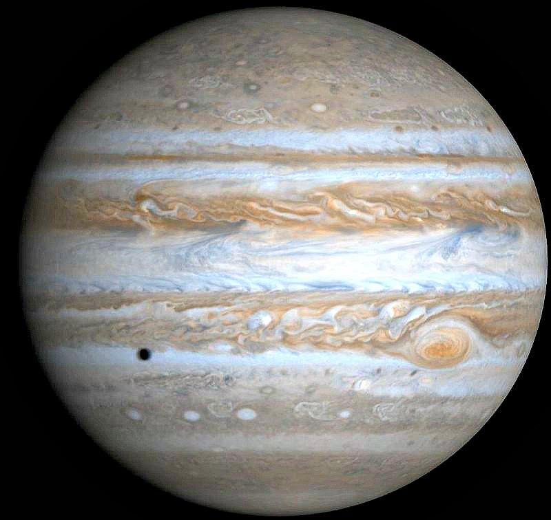 Imagen de Júpiter tomada por la sonda Cassini. (Public Domain)