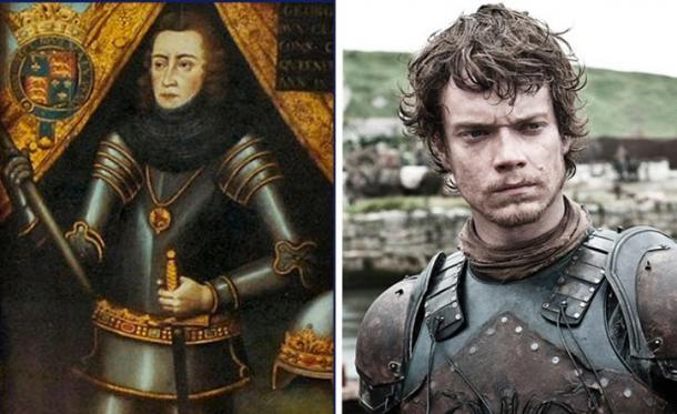 Jorge Plantagenet y Theon Greyjoy (Mentalfloss)