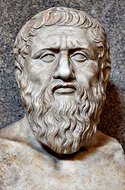 Busto de Platón. Copia romana (siglo IV) de un original griego. Museo Pío-Clementino del Vaticano. (Public Domain)