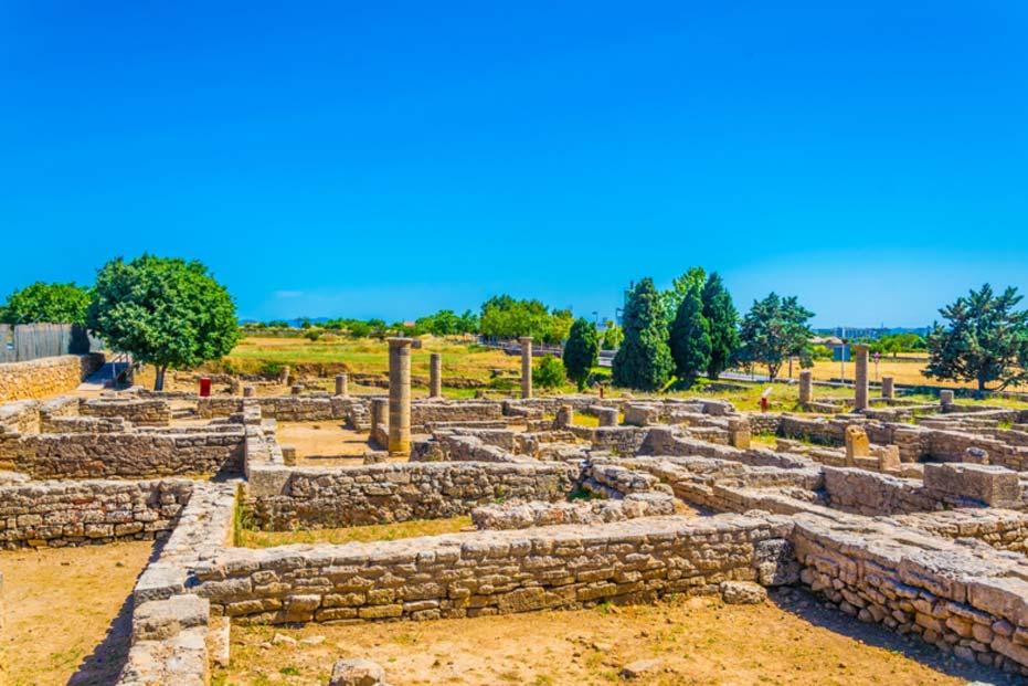 Ruinas romanas de Pollentia, Mallorca, España (dudlajzov/Fotolia)