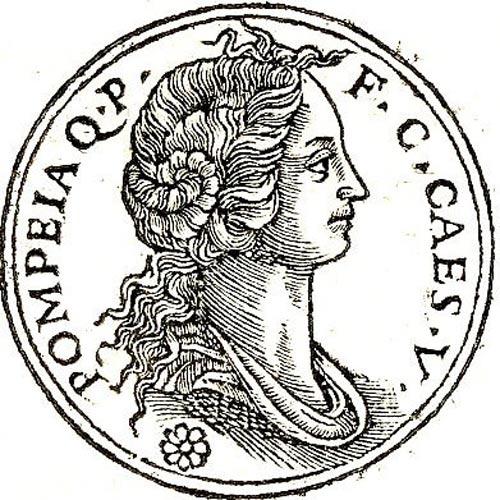 Pompeya, una de las esposas de César. (Public Domain)