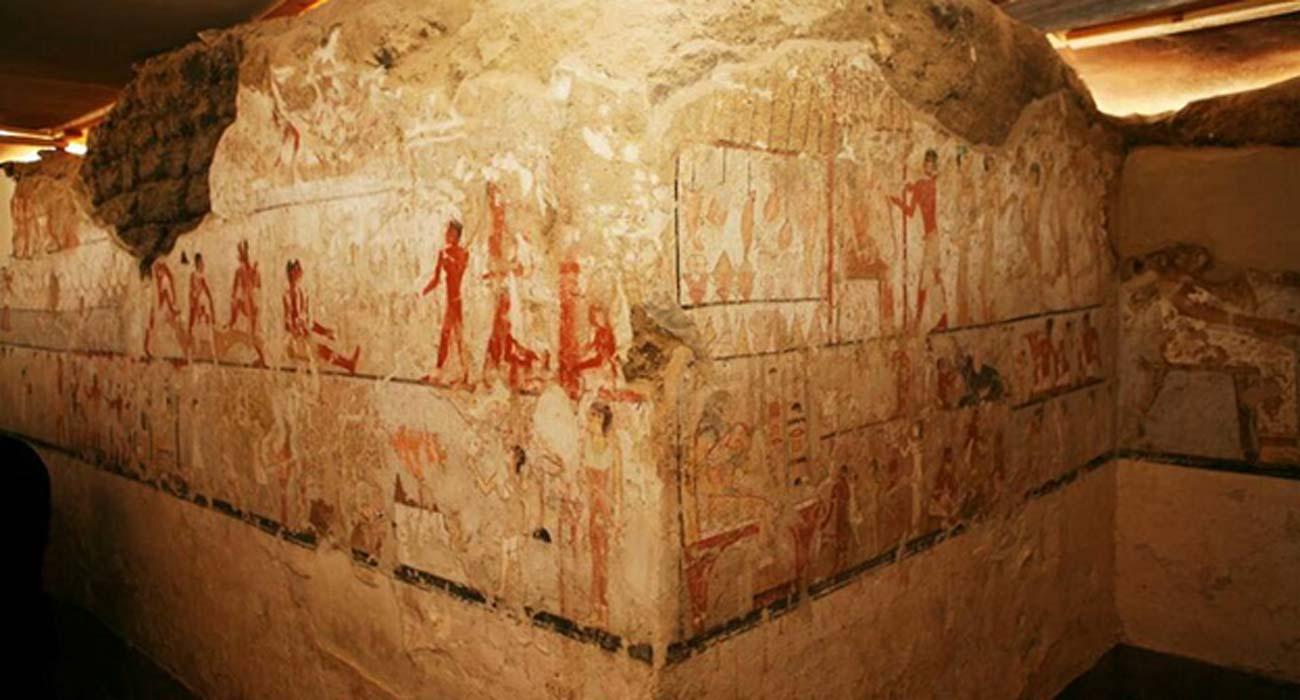 Descubierta en egipto antigua tumba de una sacerdotisa de for Ministerio de relaciones interiores espana