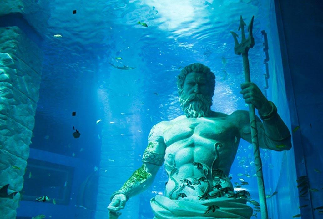 Poseidón, señor del mar. (Public Domain)