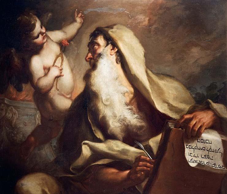 'Profeta Isaías', pintura de Antonio Balestra. (Dominio público)