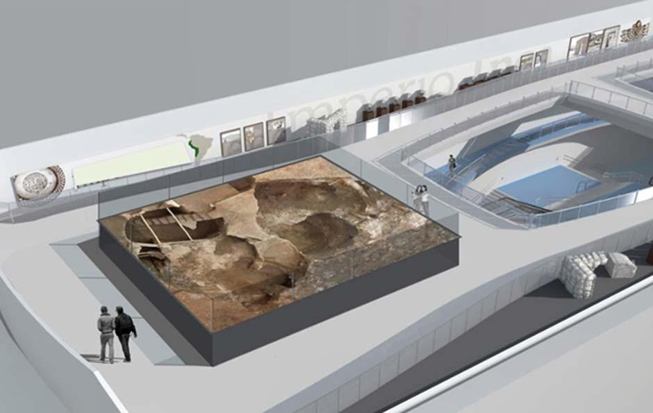 El informe del año 2016 sobre los hallazgos arqueológicos de la Plaza de San Francisco sugiere que se cree un museo in situ para conservar alguno de los elementos arqueológicos y fomentar la consciencia cultural y la valoración del patrimonio histórico de Quito. (Metro de Quito)