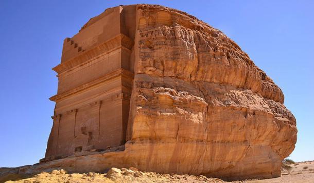Qasr al-Farid, el Castillo Solitario (Wikimedia Commons)