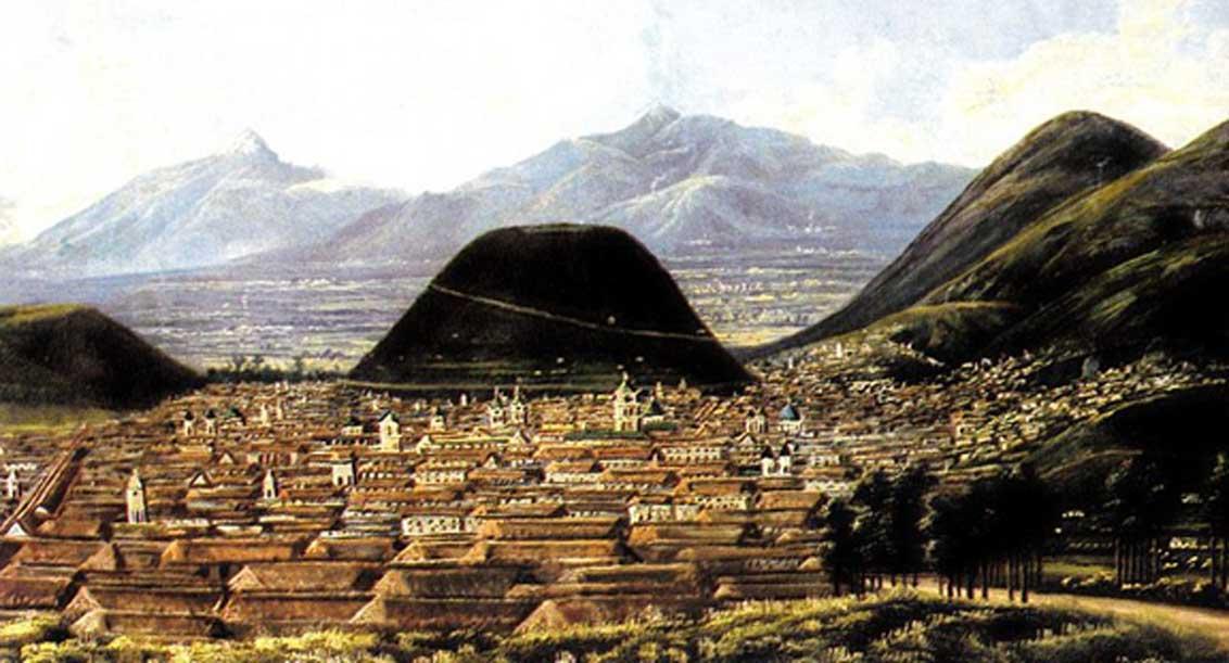 Quito tras la colonización española. (Dominio público)