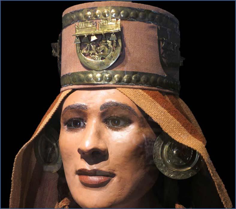 Reconstrucción de la Señora de Chornancap. (Fotos e Imágenes del Perú)