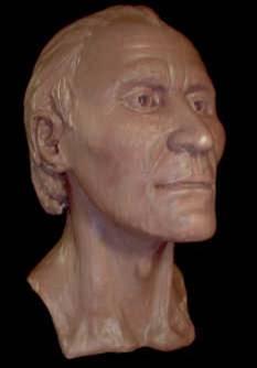 Reconstrucción facial del rostro del hombre de Grauballe (Fair Use)