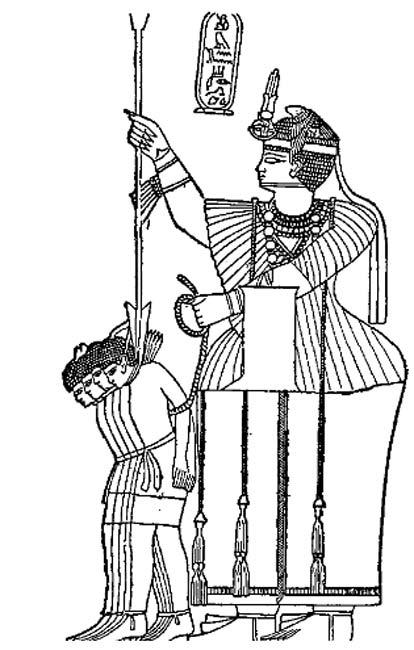 Imagen de una reina africana de la época romana. (Public Domain)