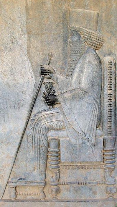 Relieve de Darío el Grande, Persépolis. (CC BY SA 3.0)