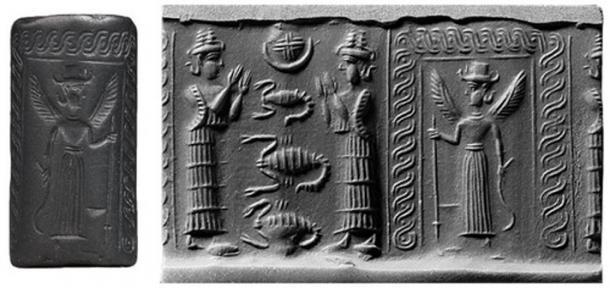 El descenso de Inanna al Inframundo. (mesopotamiangods)