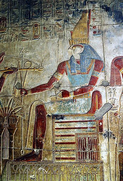 Relieve de Horus en el templo de Seti I situado en Abidos. (Rhys Davenport/CC BY 2.0)
