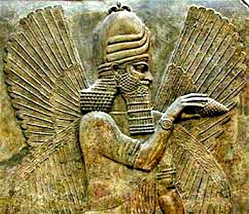 El dios babilónico Marduk. (Fuente: Código Oculto).