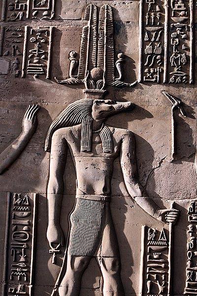 Relieve de Sobek en un templo de Kom Ombo. (Hedwig Storch/ CC BY SA 3.0)