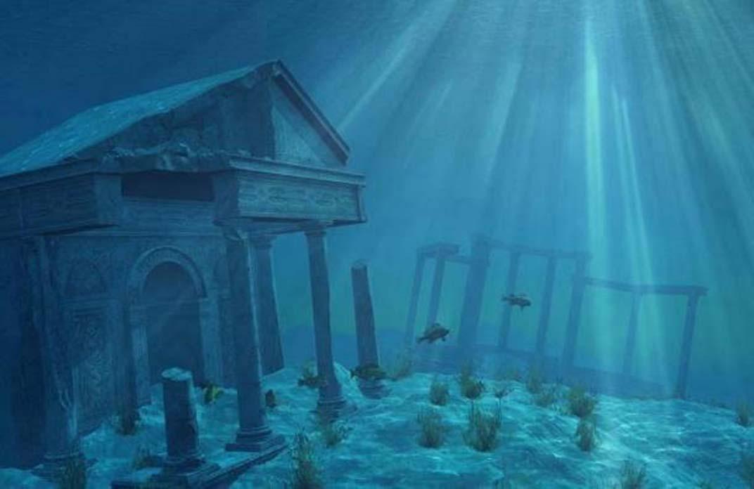 Representación artística de la Atlántida. (BigStockPhoto)