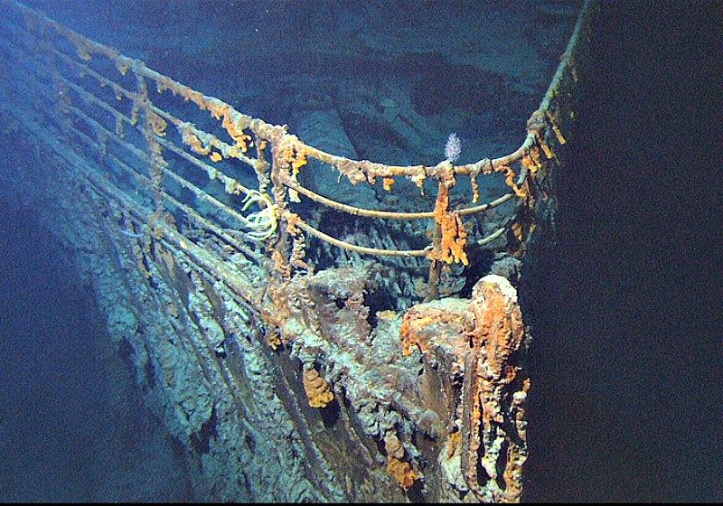 Posiblemente sean los restos del famoso Titánic los más deseados actualmente. (Public Domain)