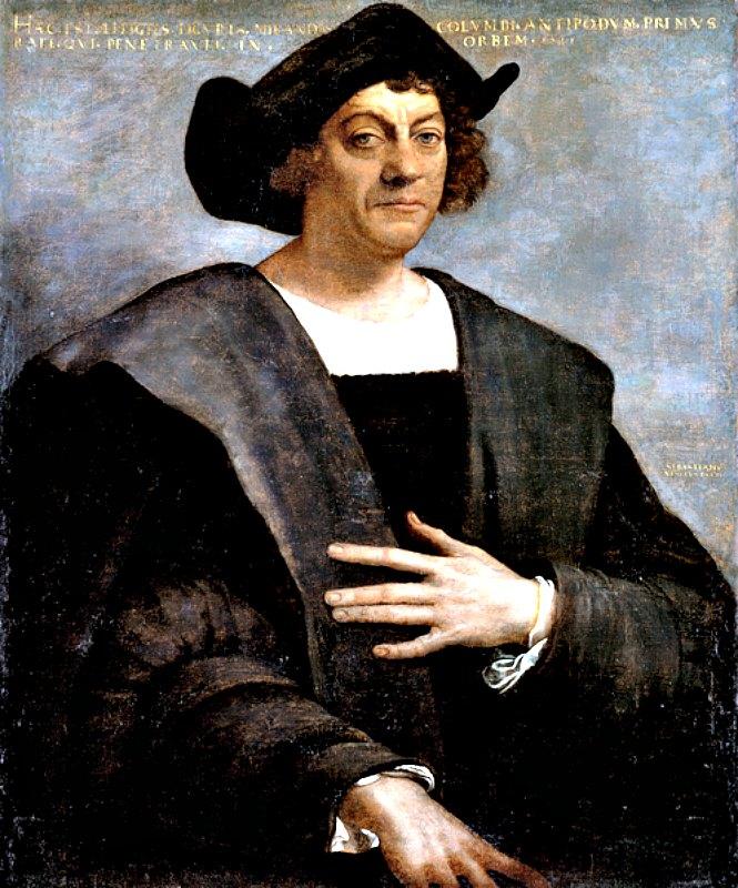 Retrato de Cristóbal Colón (1517). Óleo sobre lienzo de Sebastiano del Piombo (1485-1547). Museo Metropolitano de Arte de Nueva York, Estados Unidos. (Public Domain)