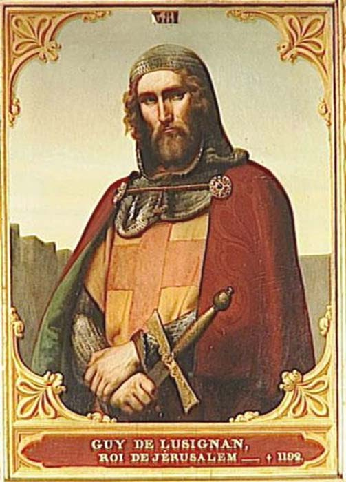 Retrato de Guido de Lusignan. (Fabiodevivo/Dominio público)