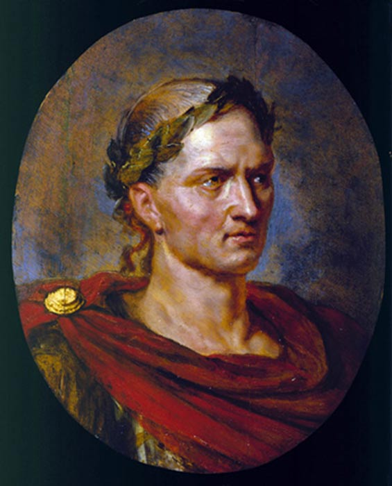 'Julio César', óleo de Peter Paul Rubens. (CC BY NC SA 2.0)