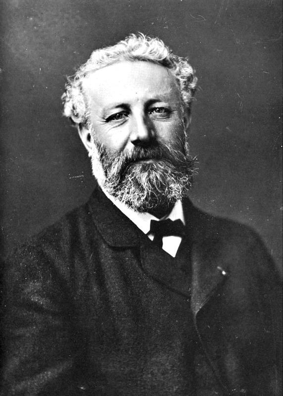Retrato de Julio Verne (c. 1878), fotografiado por Nadar (1820-1910). (Public Domain).