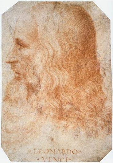 Retrato de Leonardo da Vinci. (c. 1510), obra de Francesco Melzi. (Public Domain)