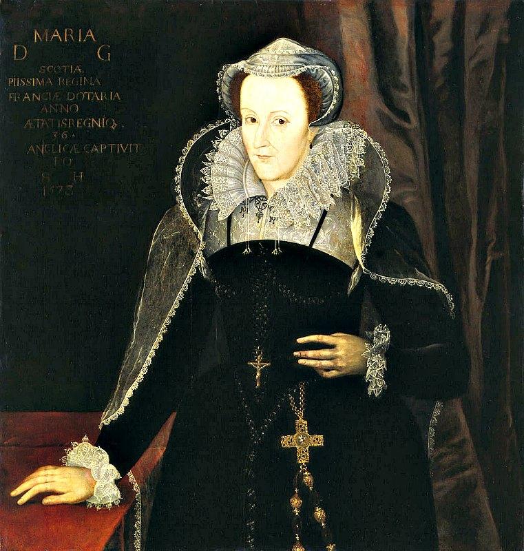 Retrato de María de Escocia durante su cautiverio en Inglaterra en 1578. (Public Domain)