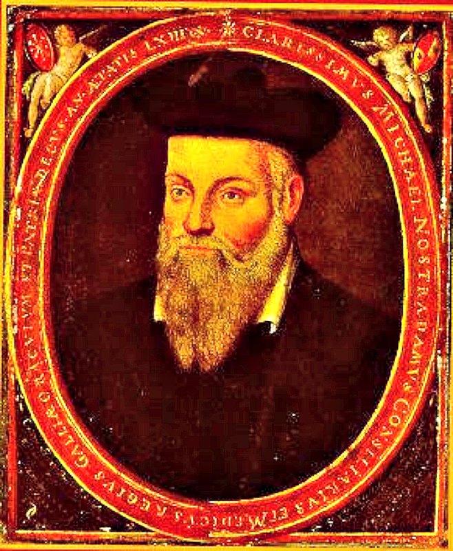Retrato original de Michel de Nôtre-Dame (1503- 1566), pintado aproximadamente en 1614 por su hijo César. (Public Domain)