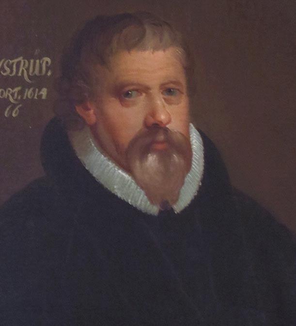 Retrato de Peder Jensen Winstrup realizado en 1750 (Wikimedia Commons)