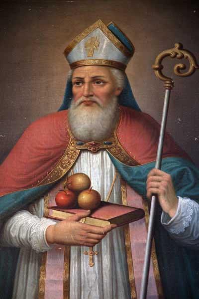 Retrato de San Nicolás (BigStockPhoto)