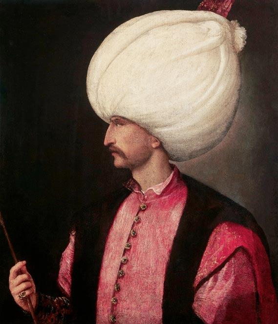 Solimán el Magnífico, circa 1530 (Public Domain)