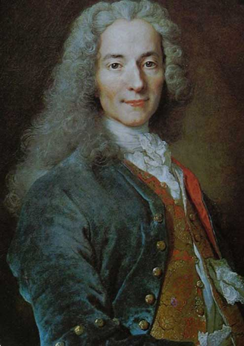 François-Marie Arouet, Voltaire (1694–1778). (Public Domain)