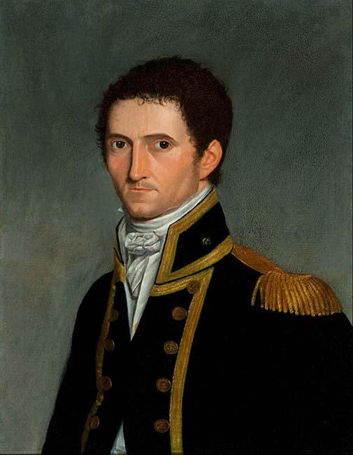 Retrato del capitán Matthew Flinders obra de Antoine Toussant. (Dominio público)