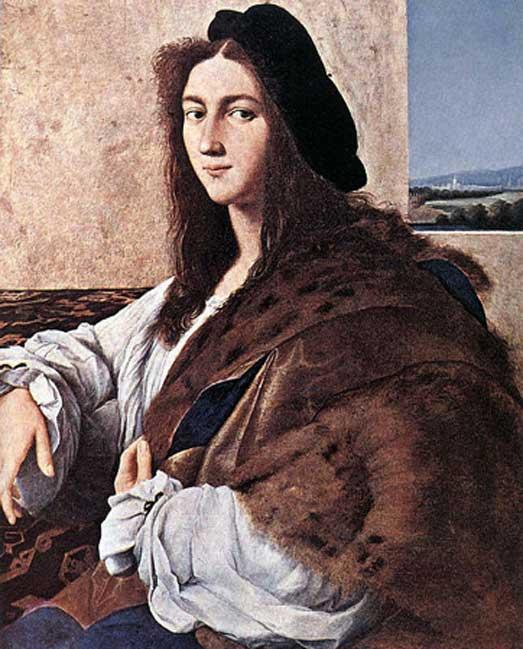 'Retrato de un joven' (1514), perdido durante la Segunda Guerra Mundial. Posible autorretrato de Rafael. (Public Domain)