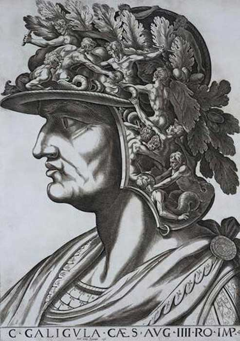 Fantasioso retrato renacentista de Calígula. (Public Domain)