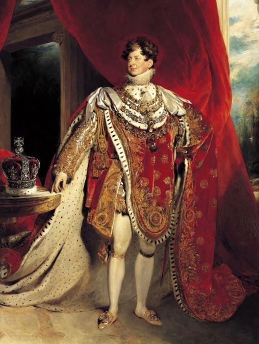 El rey Jorge IV del Reino Unido. (Public Domain)