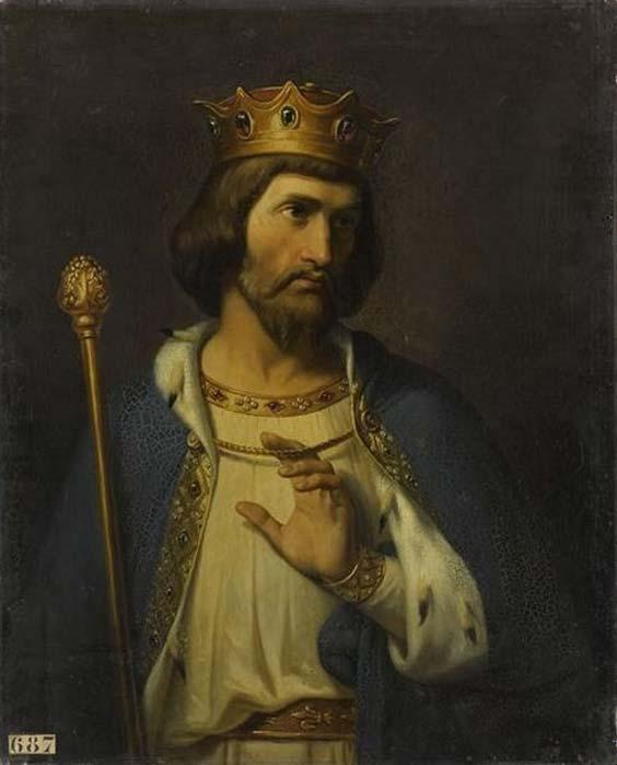 'Rey Roberto II de Francia' (1837), óleo de Merry-Joseph Blondel. (Dominio público)