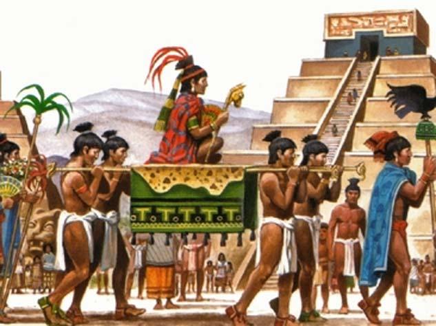 Representación de un soberano Azteca. (Mezoamericatribes)