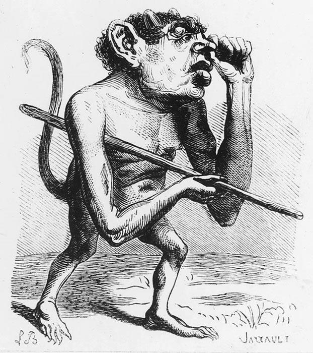 Ronwe, ilustración del Diccionario Infernal de Collin de Plancy (Public Domain)