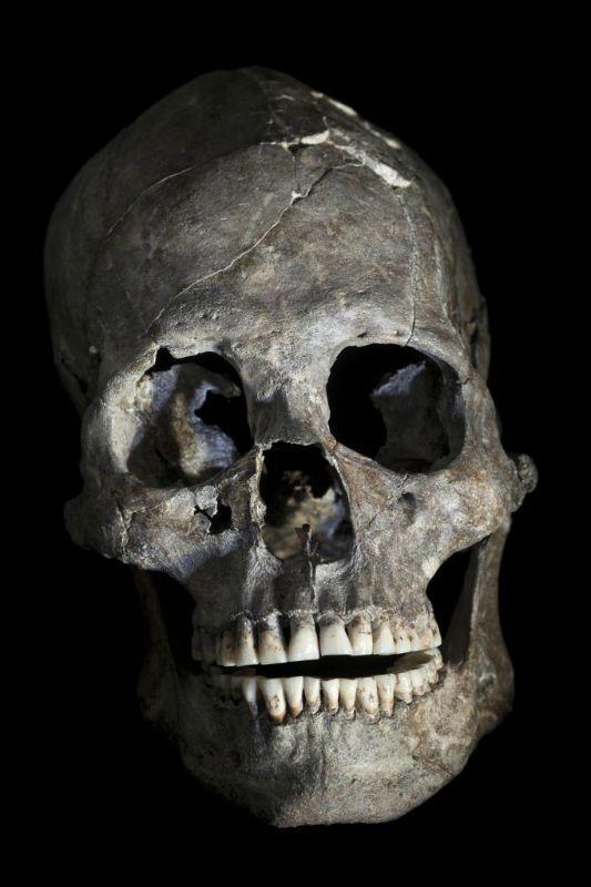 Rostro del cráneo número 26 hallado en Brasil. (Fotografía: El Mundo/Muricio de Paiva)