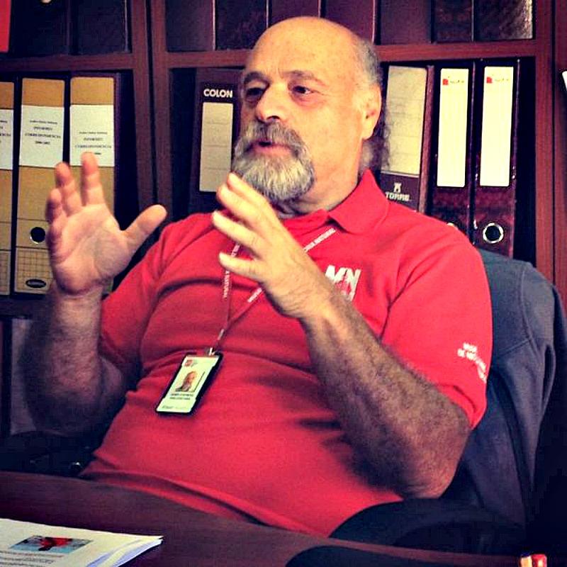 El arqueólogo Rubén Stehberg, jefe del Área de Antropología del MNHN de Chile. (Jisa39/CC BY-SA 4.0)