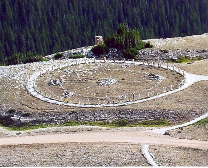 Rueda Medicinal del Bosque Nacional Bighorn, Wyoming