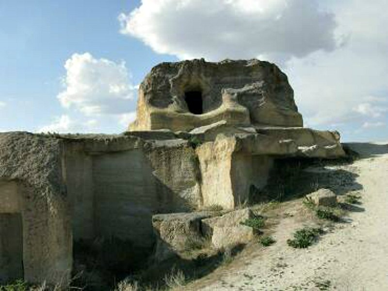 Ruinas de Cavusin en la región turca de Capadocia. (Fotografía: Alexander Koltypin/La Gran Época)